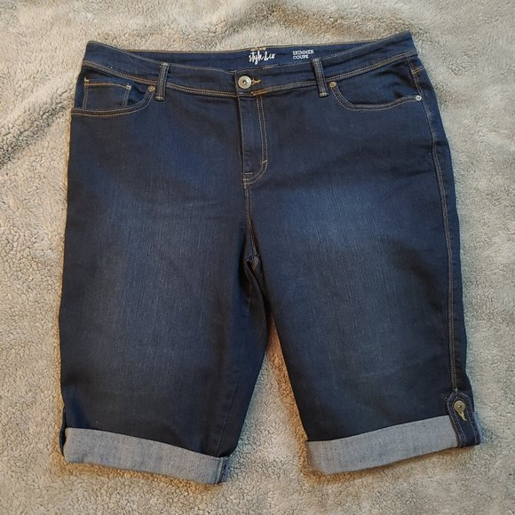 Style & Co. Skimmer Long Shorts